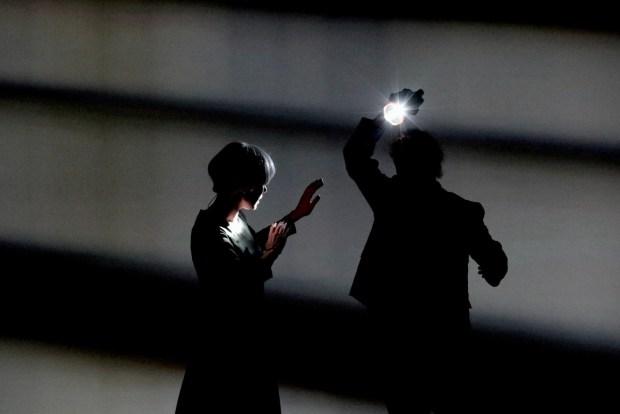 """Сцена из спектакля """"УтроВечер"""". Фотограф - © Виктория Назарова"""
