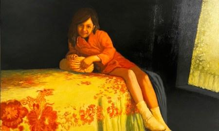Meir Pichhadze. Oil on canvas 49.5 x 74.5 cm