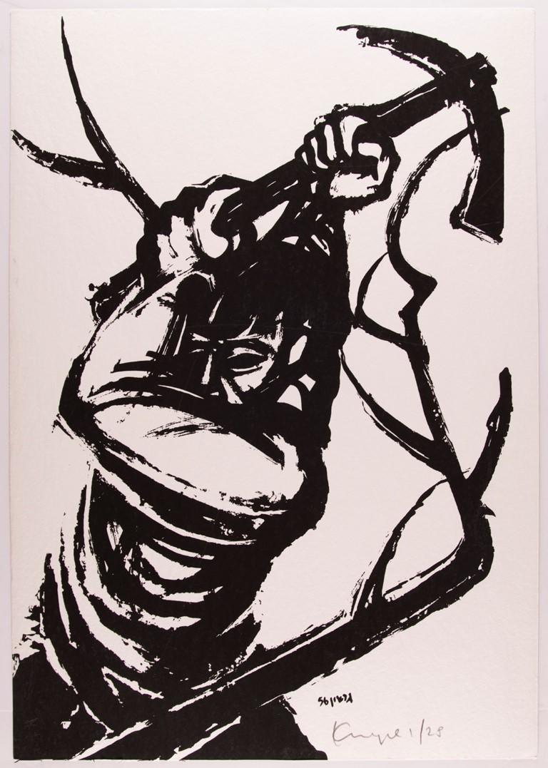 """Гершон Криспель. Из альбома """"12 гравюр к стихам Александра Пена"""". Фото © Стас Кролов"""