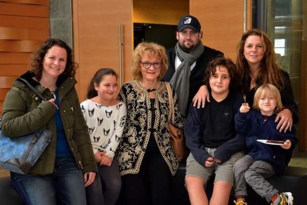 Идит Цви с семьей. Фото из личного архива