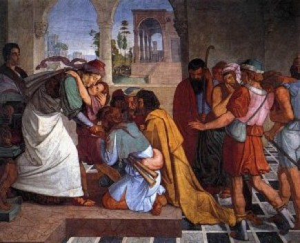 Joseph's brothers prostrated themselves before him