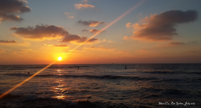 Evening on Bat Galim Beach - Sunset