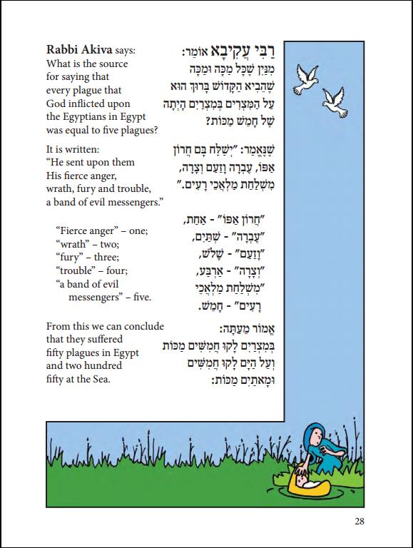 Dry Bones Passover Haggadah page 28