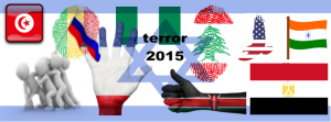 facebook cover with flags of nations affected by terror 2015