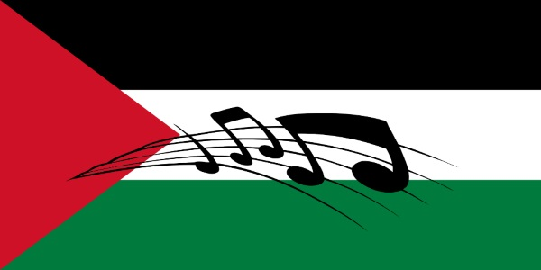 Fida'i - Palestinian flag and national anthem notes