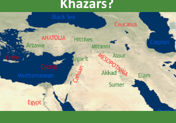 map of the mediterranean region - who is afraid of the khazars?