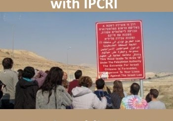 trip to jericho with IPCRI
