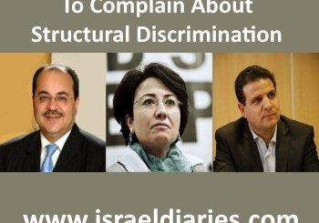 Arab MKs and structural discrimination
