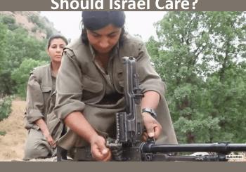 Kurdish women in training. Would Syrian women fight for Syria?