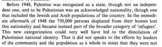 Palestinian identity