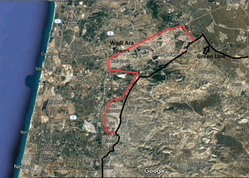 wadi ara towns proposed for exchange