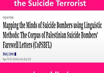 title of article talking about motives of the suicide terrorist