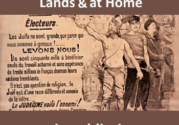 Antisemitism - Jews Colonized in Foreign Lands and At Home