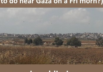 photo of Gaza from a distance