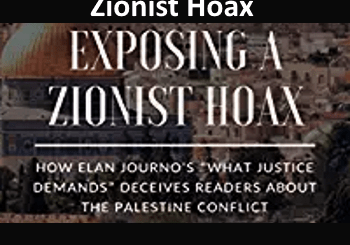 cover of the book - Exposing a Zionist Hoax