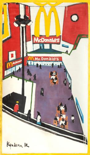 Olga Kundina - Haredi Jews in McDonald's