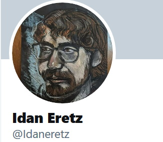 Screenshot from Idan Eretz public Twitter account