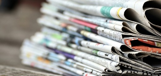 image of pile of newspapers