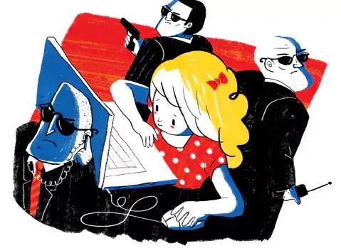 עוקבים אחרי הילדים באינטרנט