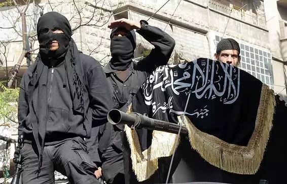 Terroristes d'Al-Qaïda en Syrie // Photo: AP