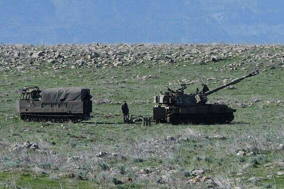 Forces de Tsahal sur les hauteurs du Golan, le mois dernier // Photo: Eyal Margolin, Ginny