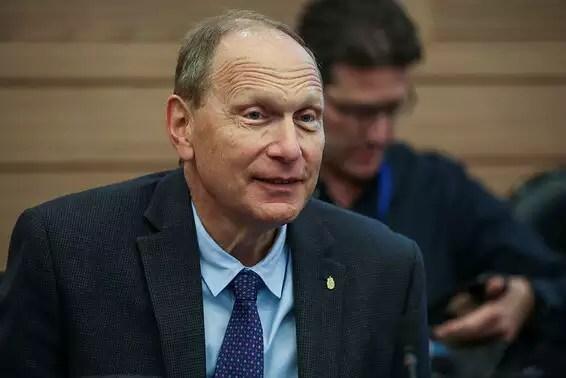 """""""Blame on the government"""", Prof. Leonid Eidelman // Photo: Oren Ben Hakon"""