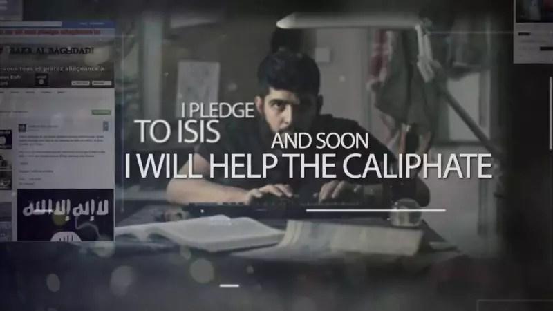 תעמולת גיוס לדאעש בפייסבוק // צילום: מתוך יוטיוב