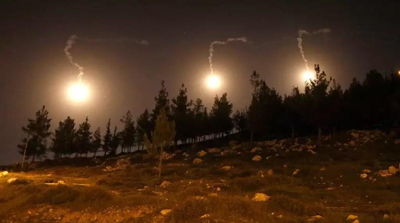 Rapports : des frappes aériennes israéliennes ont touché le Hezbollah et des cibles iraniennes en Syrie