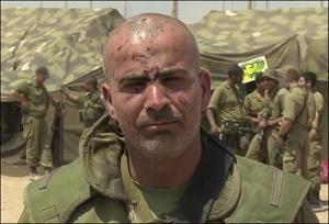 قائد لواء المشاة غولاني في جيش الدفاع الإسرائيلي الكولونيل غسان عليان