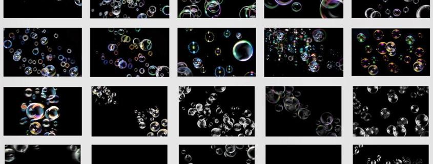Texturas de Burbujas