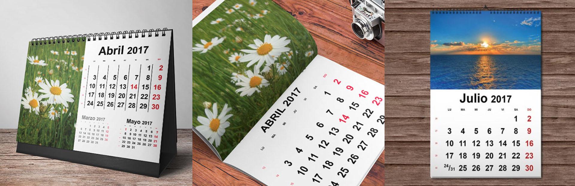Calendario 2017 InDesign