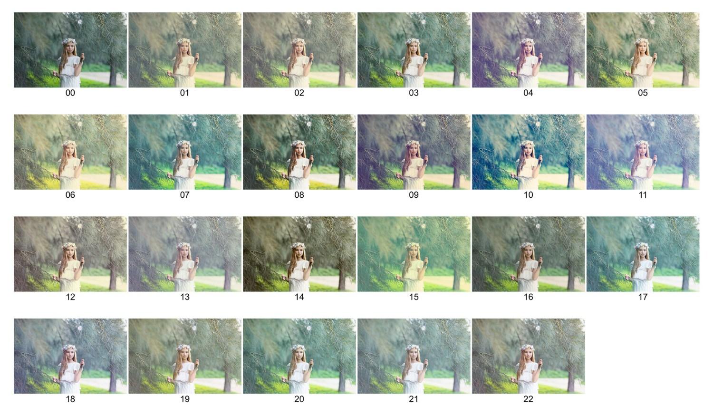 Consulta de colores Volumen 3: Looks Primavera