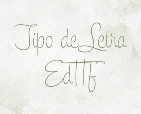 Tipo de letra: EdTTF