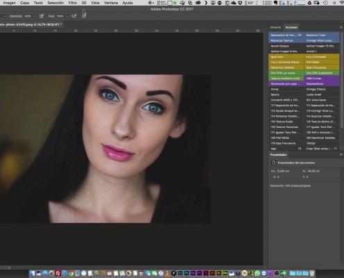 31 Optimización del Espacio de trabajo de Photoshop