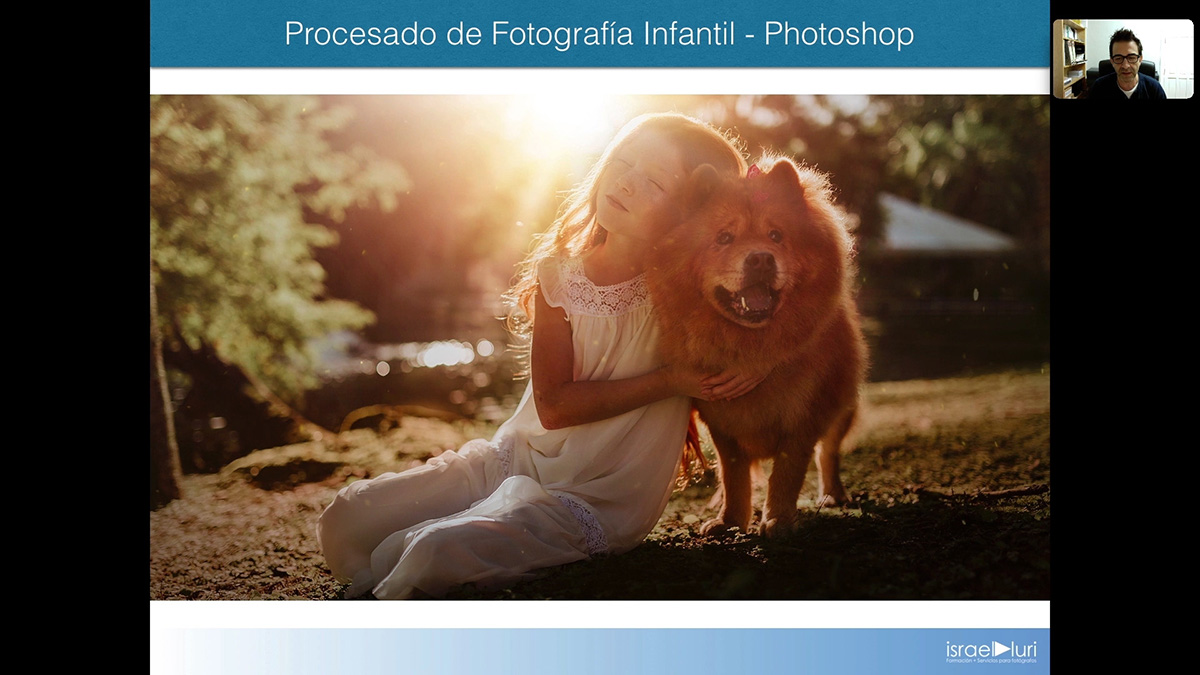 Procesado de Fotografía Infantil
