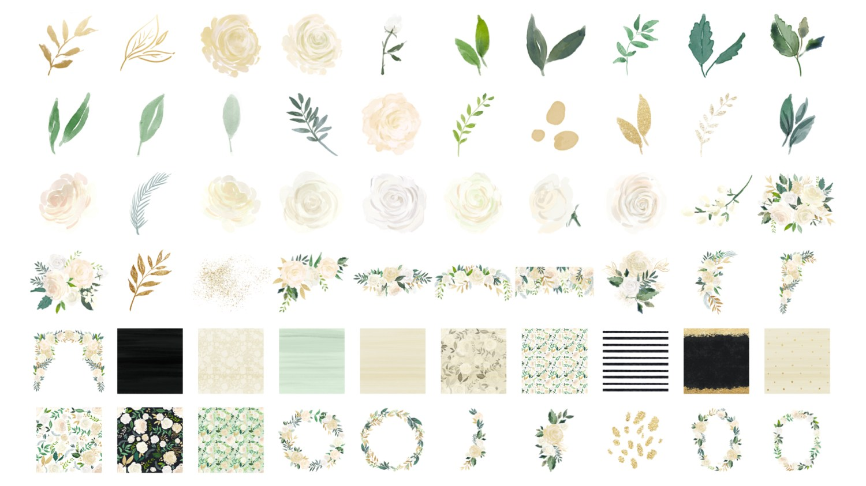 Pack floral