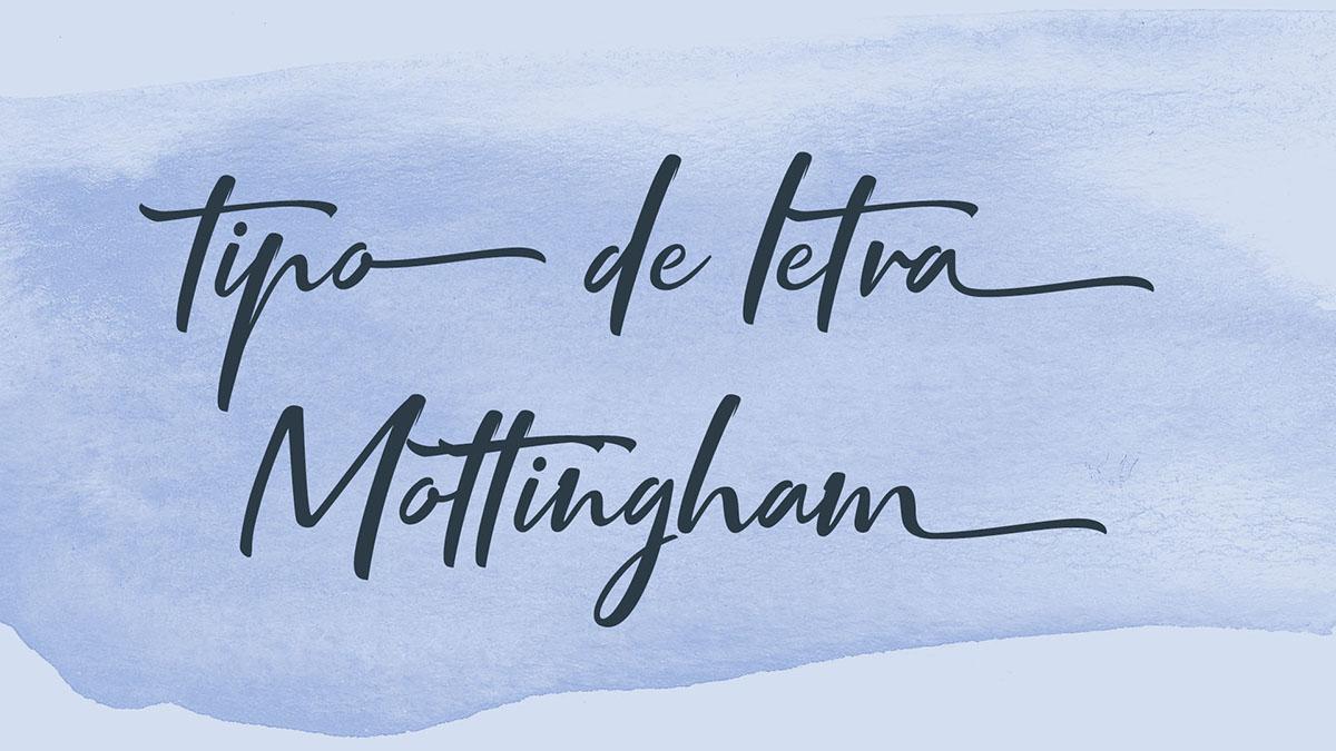 Tipo de letra Mottingham