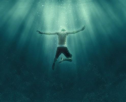 Acción Photoshop de efecto debajo del agua