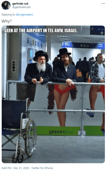 antisemitic tweet