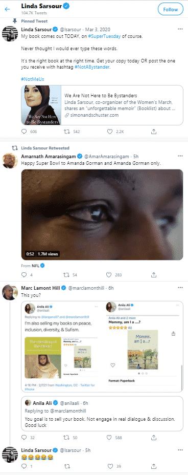 linda sarsour twitter timeline