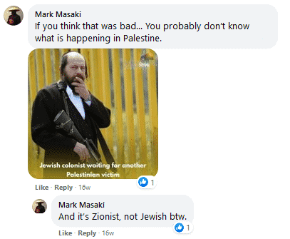 Mark Masaki tweet