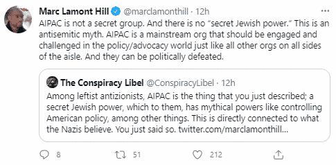 marc lamont hill aipac tweet