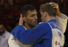 Saeid Mollaei Din Yaacov Gemer embrace