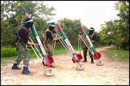 gaza rocket launch