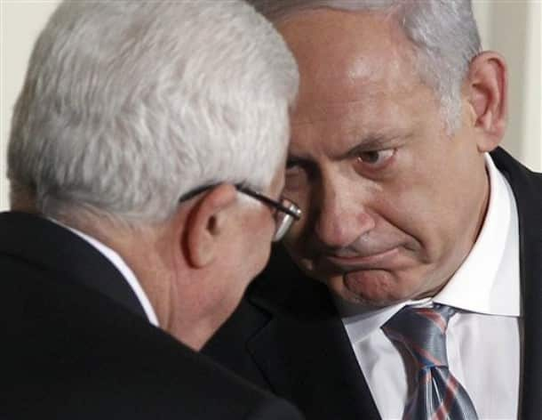 Abbas e Netanyahu