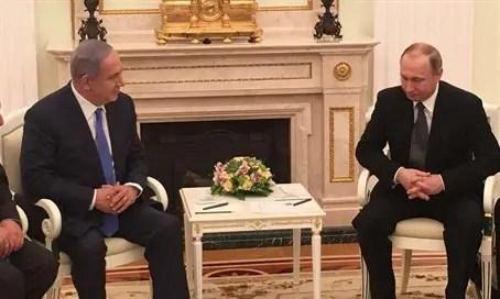 Binyamin Netanyahu's meeting with Vladimir Putin