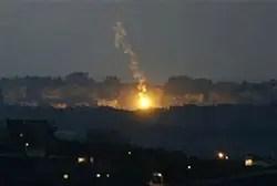 IDF air strike on Gaza