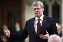 Canadian PM Stephen Harper