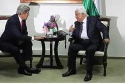 John Kerry meets Mahmoud Abbas in Ramallah