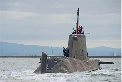 Military submarine (illustration)